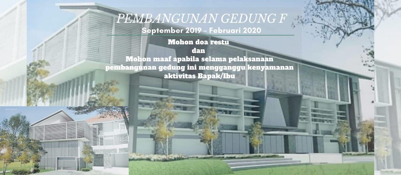 Pembangunan Gedung F